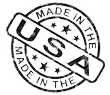 Made in the USA stamp logo